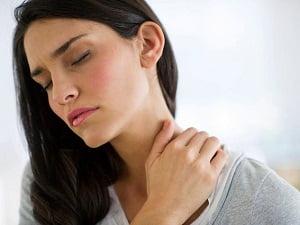 Шейный остеохондроз во время обострения