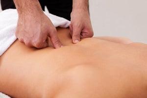 Разминание спины