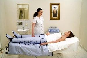 аппарат для лимфодренажного массажа ног