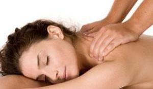 массаж при хондрозе шеи