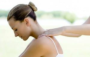 техника массажа шеи