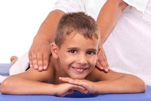 массаж воротниковой зоны ребенку