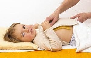 массаж от кашля для детей