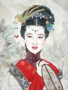 китайский массаж лица видео