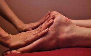 массаж ног видео