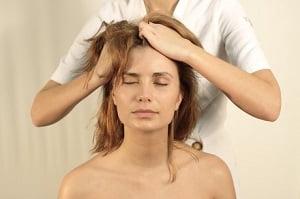 индийский массаж головы видео