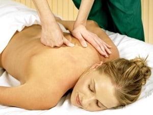 сегментарный массаж шейно-грудного отдела позвоночника