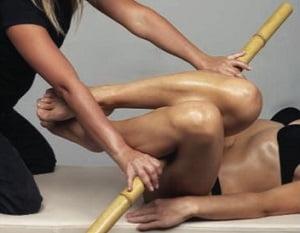 креольский массаж бамбуковыми палочками видео