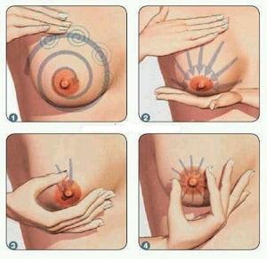 массаж груди как делать