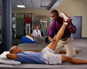 спортивный массаж видео